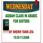 AQIDAH CLASS IN ARABIC FOR SISTERS-1